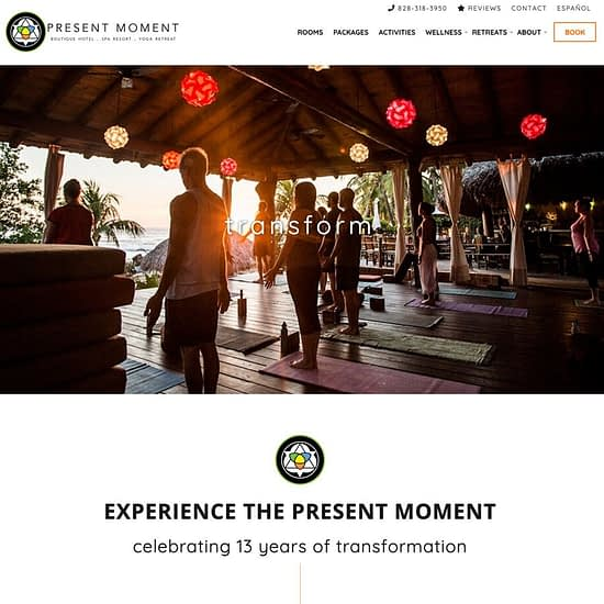 Present Moment Yoga Retreat