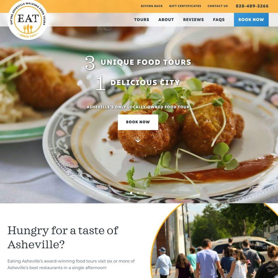 Eating Asheville Walking Food Tours
