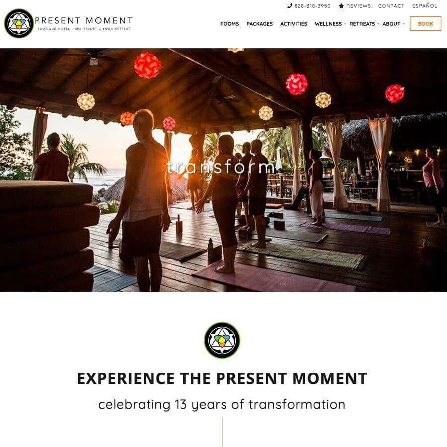 Present Moment Yoga Retreat